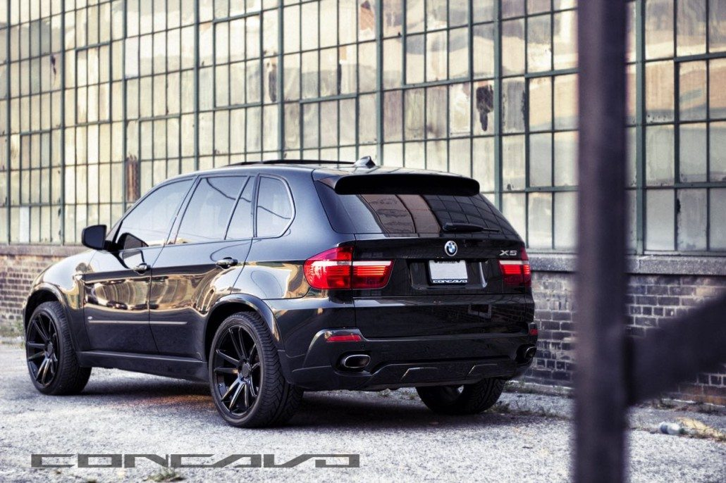 Bmw X5 On Gloss Black Cw S5 S Concavo Wheels