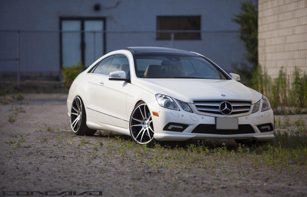 Mercedes benz e350 coupe on cw s5 s concavo wheels for Mercedes benz e350 black