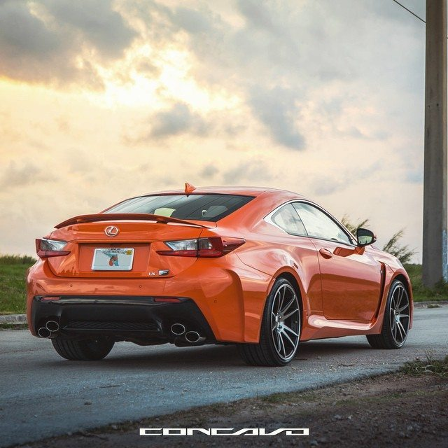 Damn those Orange Hips don't lie! #Concavo #Lexus #RCF…