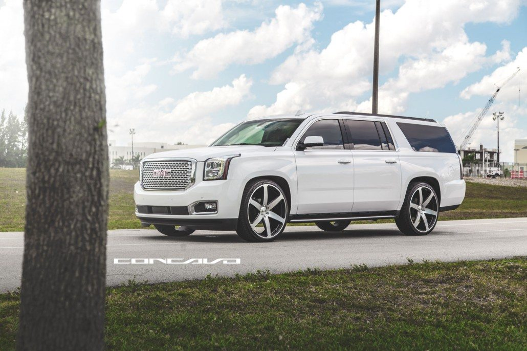 2015 GMC Yukon on CW6's – Concavo Wheels