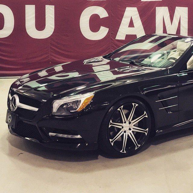 SL on S8's #Concavo #Mercedes #SL #SL55 #CWS8 #Merc…