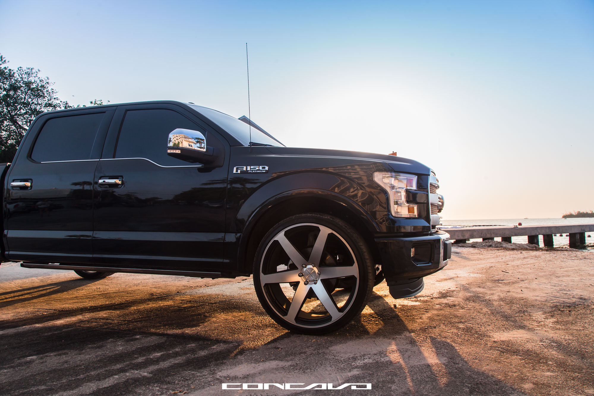 Ford F150 On 26 Cw6 Concavo Wheels
