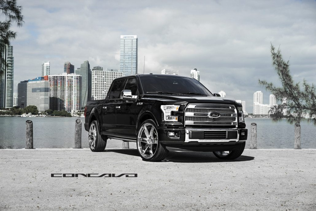 Ford F150 Rims >> Ford F150 Platinum on Chrome CW6 – Concavo Wheels