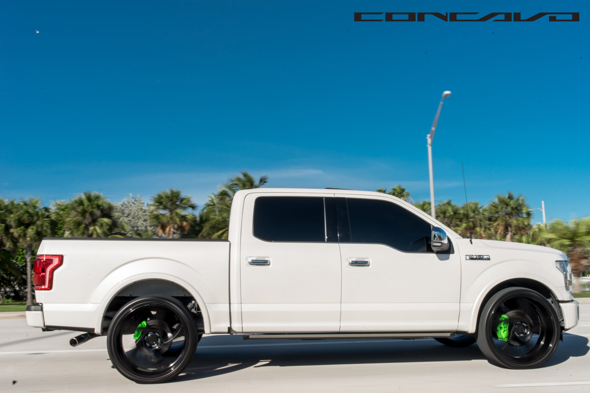 Ford F150 Wheels >> Ford F150 Platinum on 24″ CW-5D – Concavo Wheels